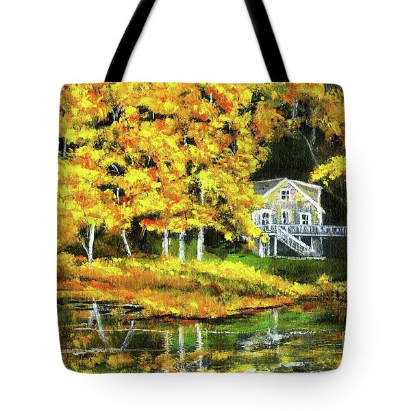 Carol's House Tote Bag by Randy Sprout