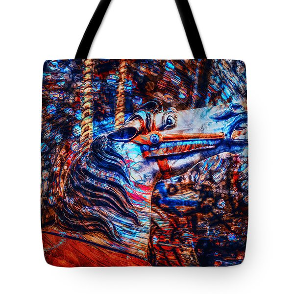 Carousel Dream Tote Bag