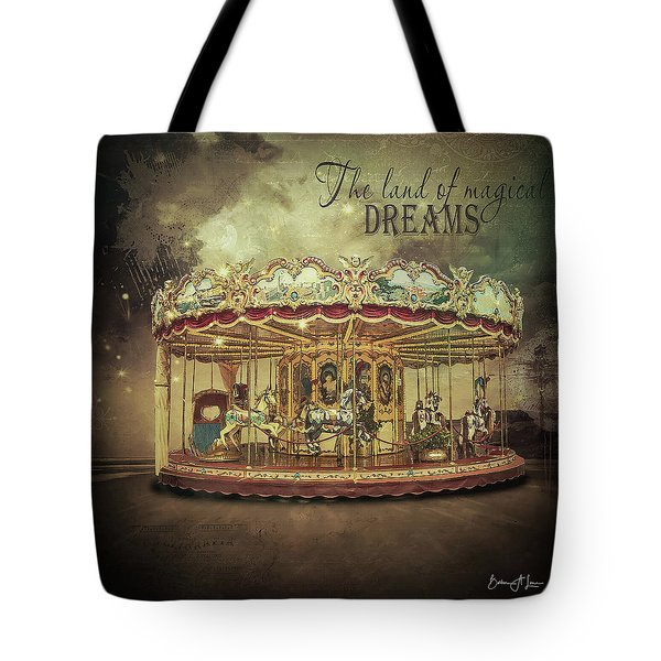 Carousel Dreams Tote Bag