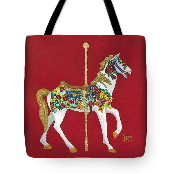 Carousel Horse #2 Tote Bag