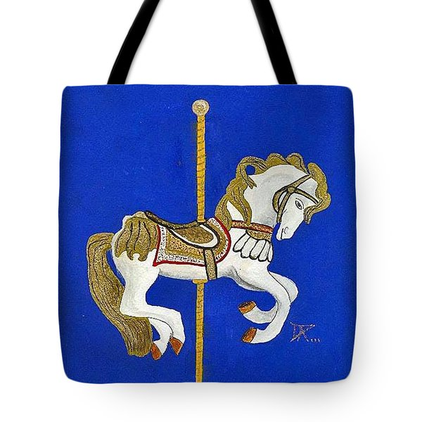 Carousel Horse #3 Tote Bag