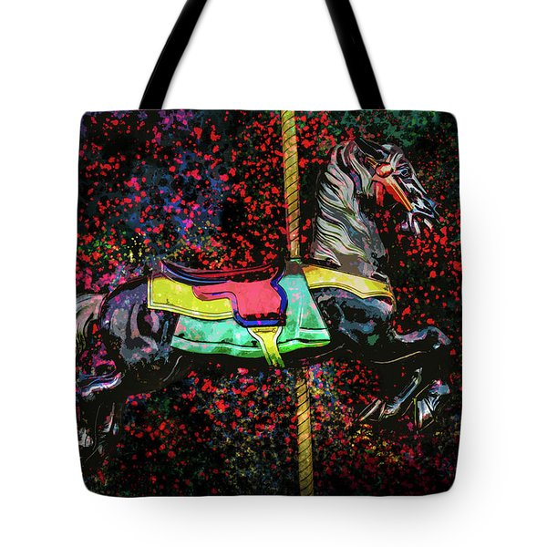 Carousel Number 16 Tote Bag