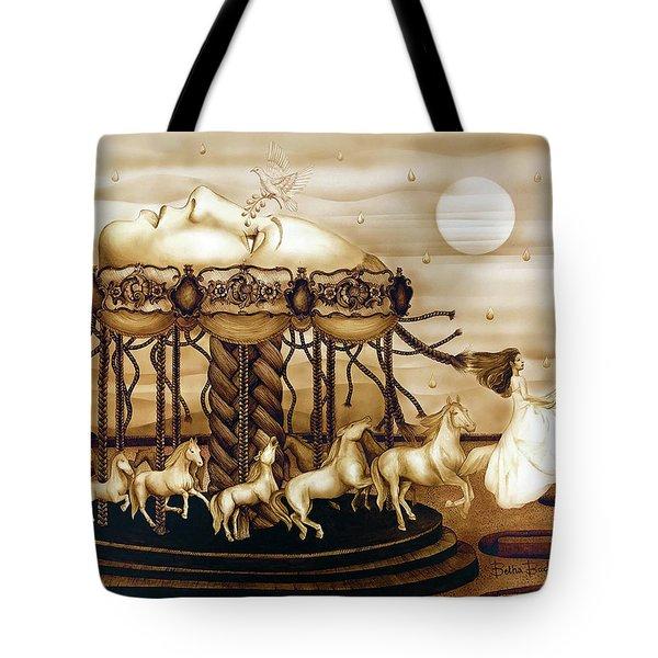 Carousel Of Life Tote Bag
