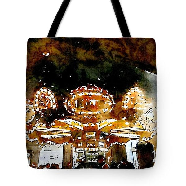 Carousle Bar At The Hoel Monteleone Tote Bag