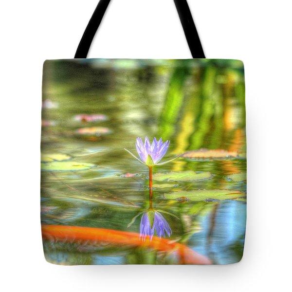 Carp And Lily Tote Bag