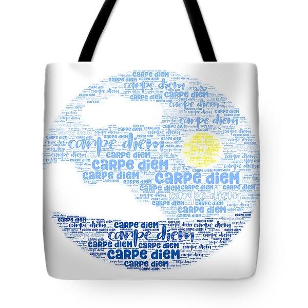 Tote Bag featuring the digital art Carpe Aestatem by Bee-Bee Deigner