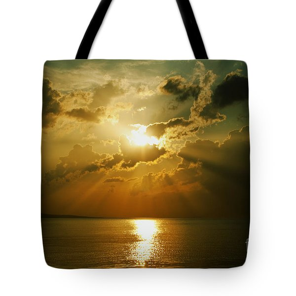 Carpe Diem Tote Bag by Andrew Paranavitana
