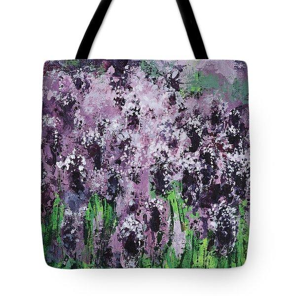 Carpet Of Lavender Tote Bag
