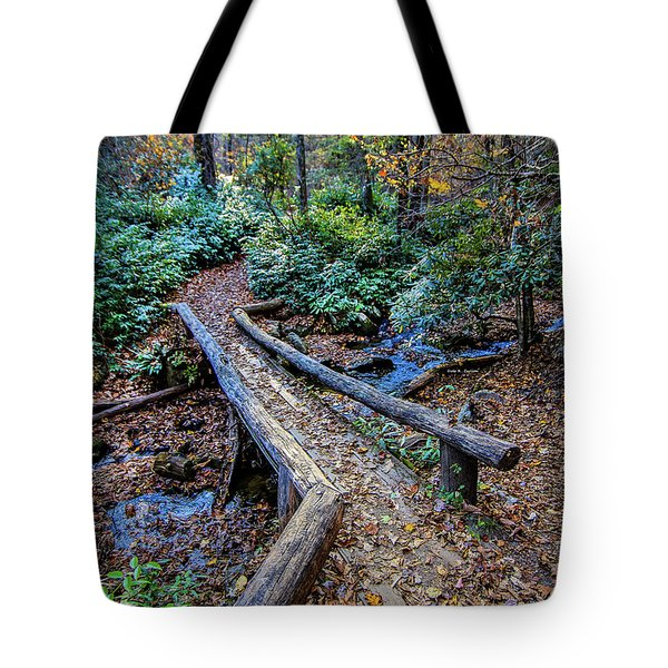 Carpet Of Leaves Tote Bag by Dale R Carlson