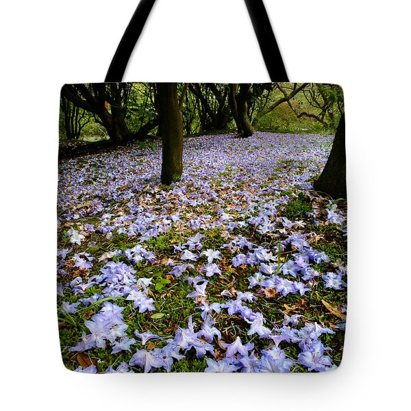 Carpet Of Petals Tote Bag
