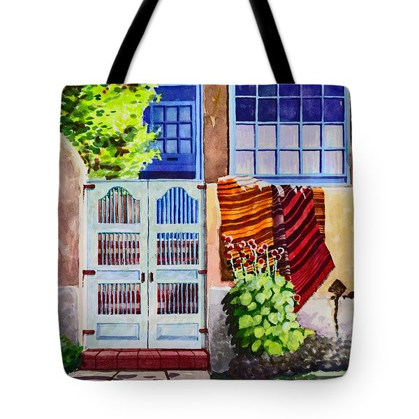 Carpets By The Gate Tote Bag