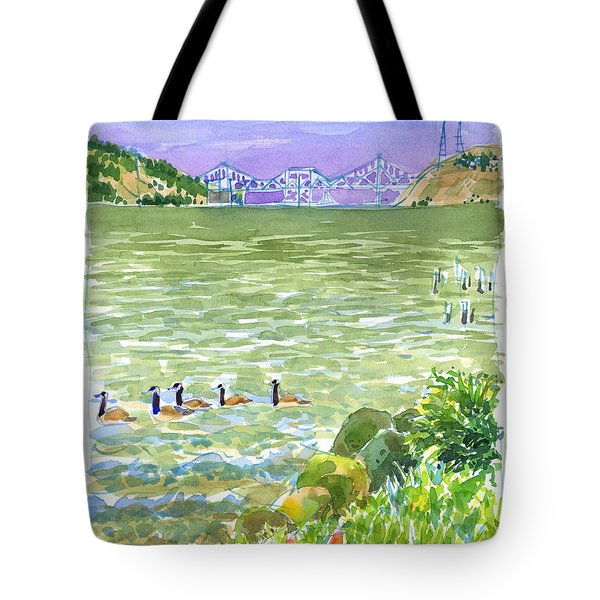 Carquinez Bridge From Benicia Tote Bag