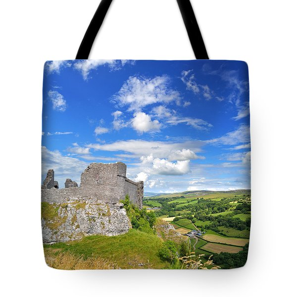 Carreg Cennen Castle 1 Tote Bag