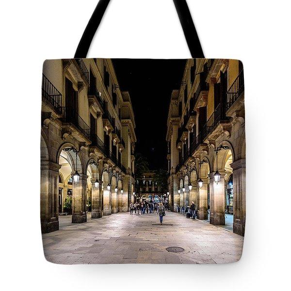 Carrer De Colom Tote Bag