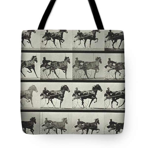 Carriage Driving Tote Bag