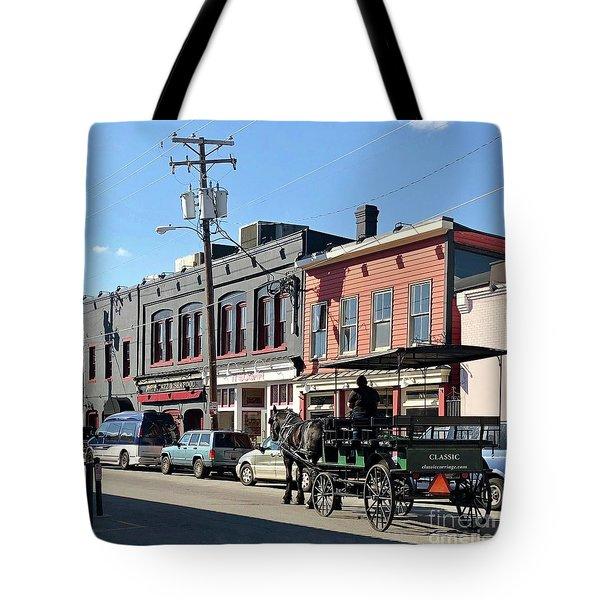 Carriage Tote Bag