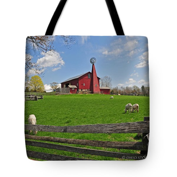 D14d-43 Carriage Hill Farm Metro Park Photo Tote Bag