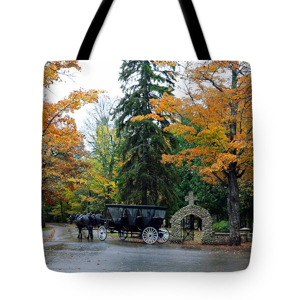 Tote Bag featuring the photograph Carriage Ride by Jackson Pearson