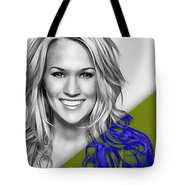 Carrie Underwood Collection Tote Bag by Marvin Blaine