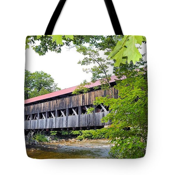 Carrol County Covered Bride Tote Bag