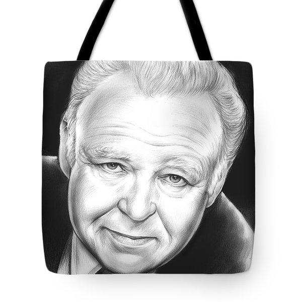 Carroll O'connor Tote Bag