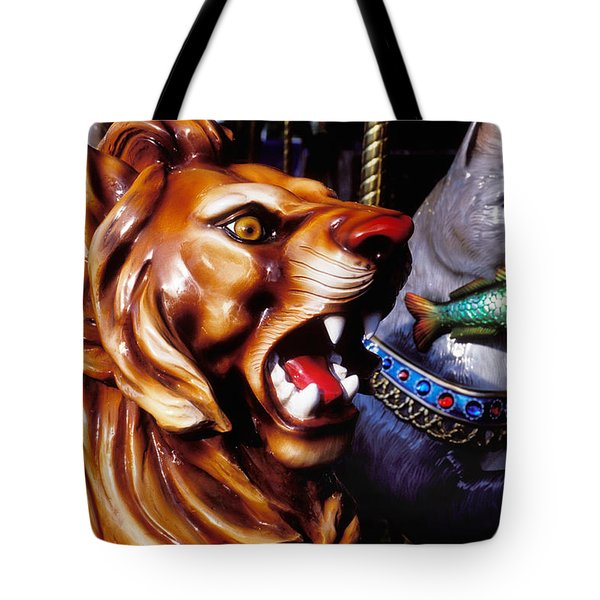 Carrosul Ride Tote Bag by Garry Gay