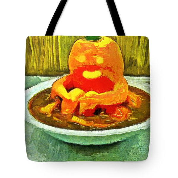 Carrot Bath Time - Da Tote Bag