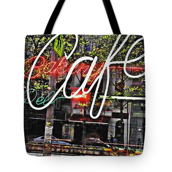Carrot Top On Broadway Tote Bag by Sarah Loft