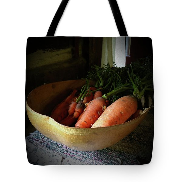 Carrots From The Garden Tote Bag by Scott Kingery