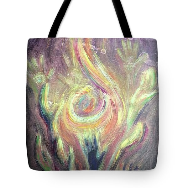 Carry The Fire Tote Bag
