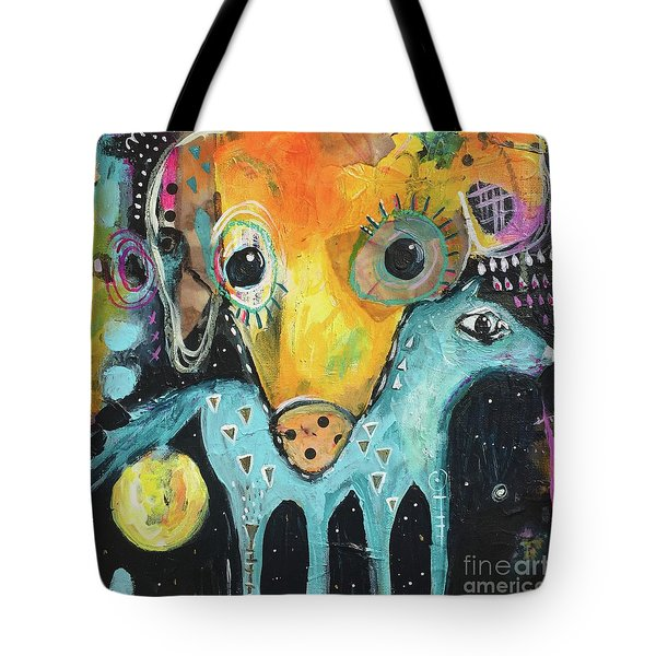 Carrying You With Me Tote Bag