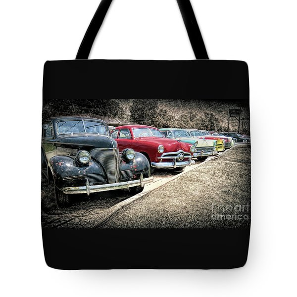 Cars For Sale Tote Bag