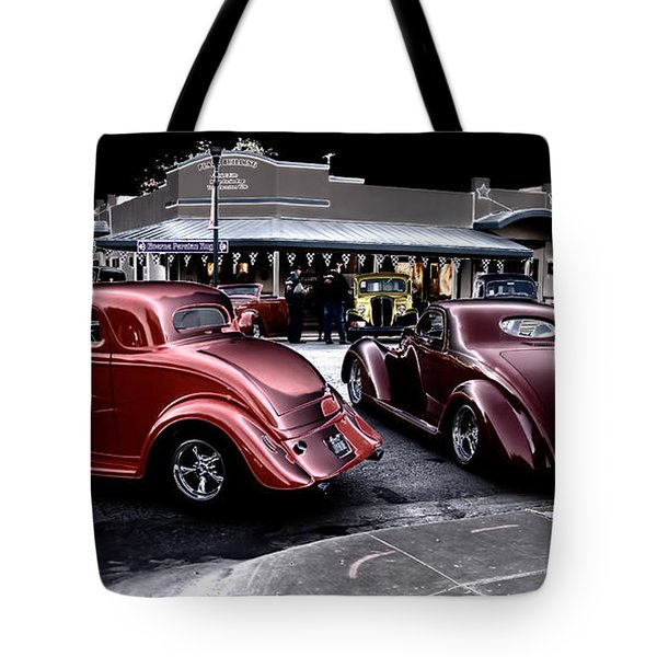 Cars On The Strip Tote Bag