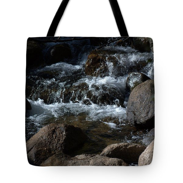 Carson River Tote Bag by Lynn Bawden