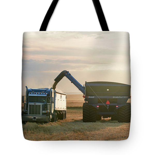 Cart Into Truck Tote Bag