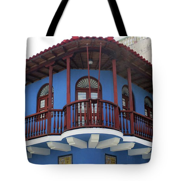 Cartagena Windows 11 Tote Bag