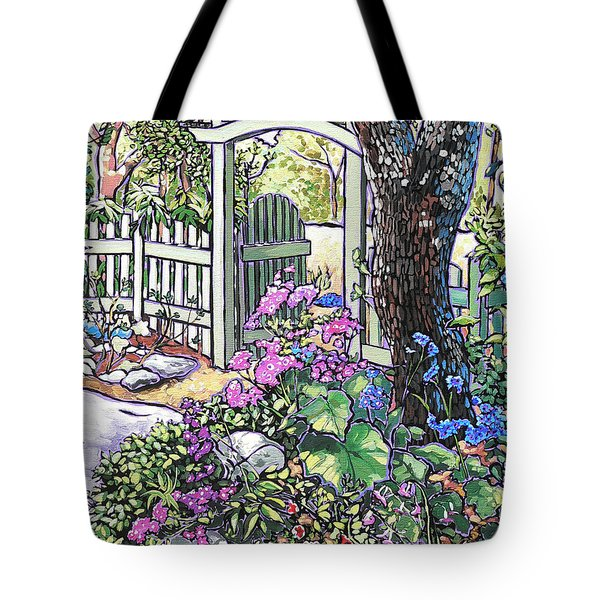 Carter Garden Tote Bag by Nadi Spencer