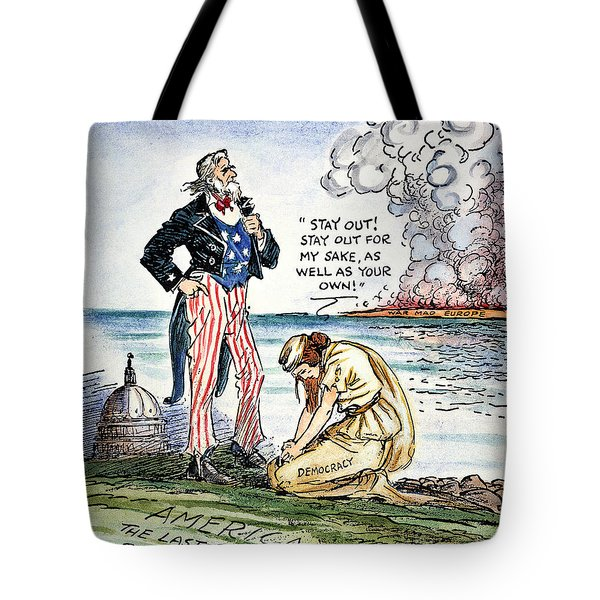 Cartoon: U.s. Intervention Tote Bag by Granger