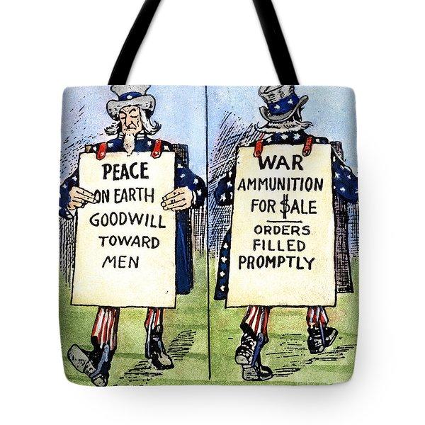 Cartoon: U.s. Neutrality Tote Bag by Granger