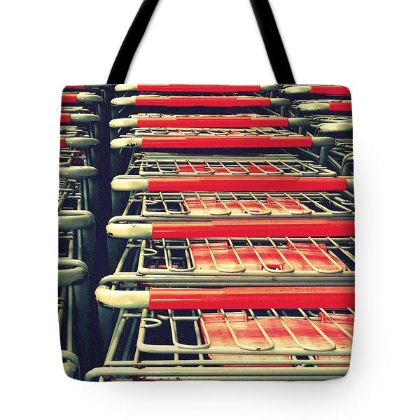 Carts Tote Bag