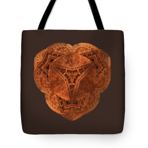 Tote Bag featuring the digital art Carved by Lyle Hatch