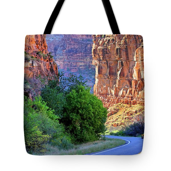 Carving The Canyons - Unaweep Tabeguache - Colorado Tote Bag by Jason Politte