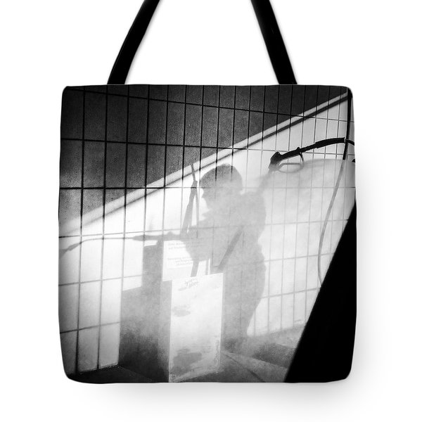Carwash Shadow And Light Tote Bag