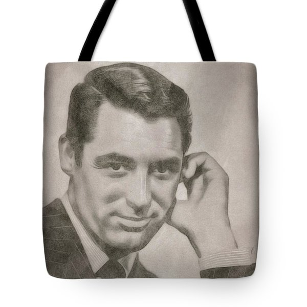 Cary Grant Hollywood Icon Tote Bag