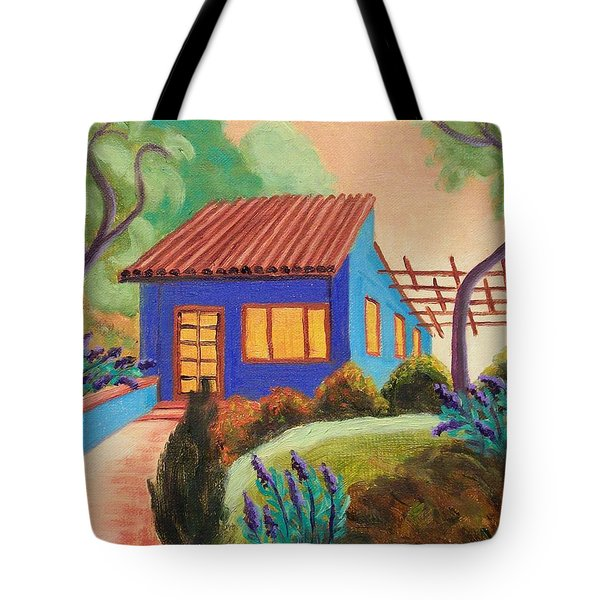 Casa Azul Tote Bag