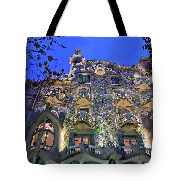 Casa Batllo In Barcelona Tote Bag