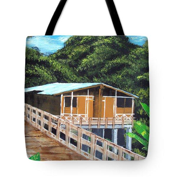Casa Grande Tote Bag by Luis F Rodriguez