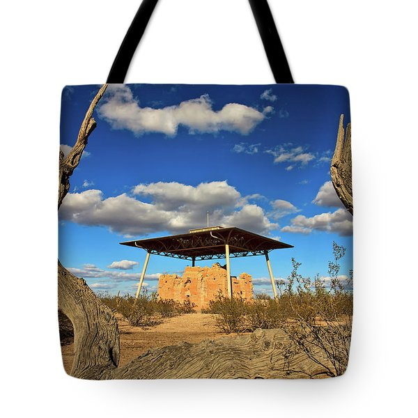 Casa Grande Ruins National Monument Tote Bag