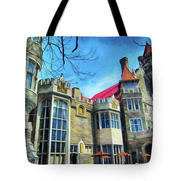 Casa Loma Series 2 Painted Y1 Tote Bag