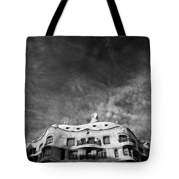 Casa Mila Tote Bag by Dave Bowman